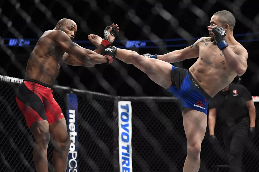 Romero vs Whittaker Rematch, Yoel Romero vs Robert Whittaker