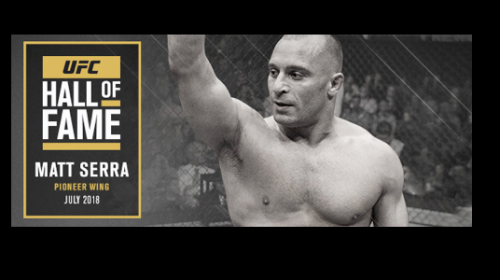 Matt Serra named to UFC Hall of Fame Class of 2018