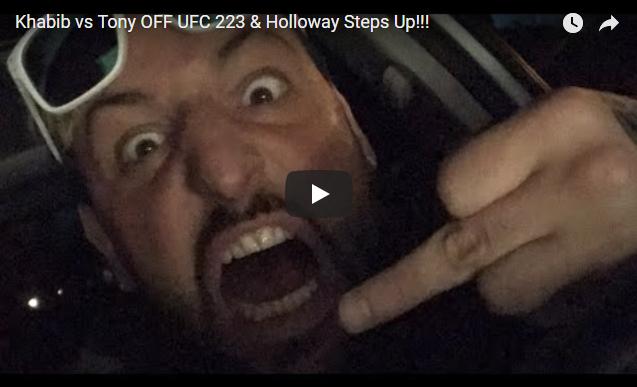 Reaction: Tony Ferguson Injured And Off UFC 223