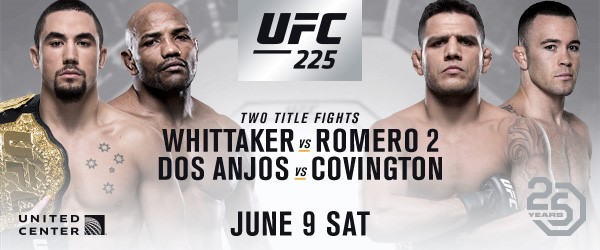 Two Blockbuster Championship Bouts Headline UFC 225 In Chicago