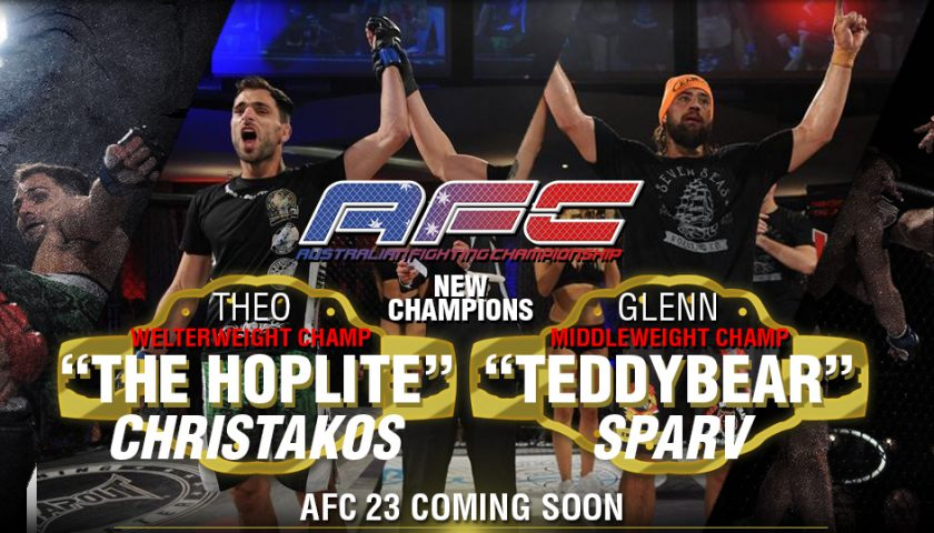 AFC 22 Quick Wrap – Two new champions crowned
