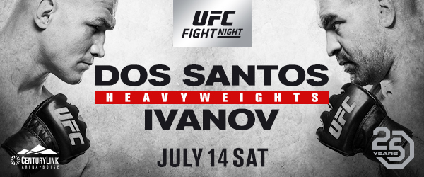 UFC Debuts In Boise With A Hard-Hitting Heavyweight Headliner