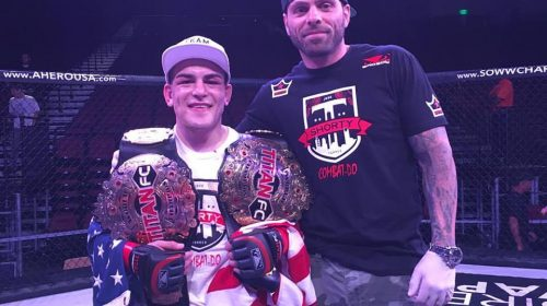 Jose Shorty Torres praises Lou Giordano for talking him into UFC Utica