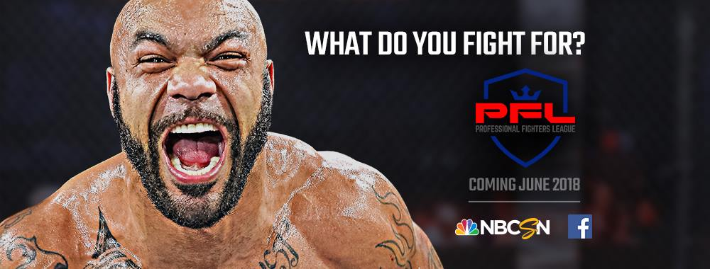 Professional Fighters League Announces Full Fight Card For PFL 3 in Washington, D.C. on July 5