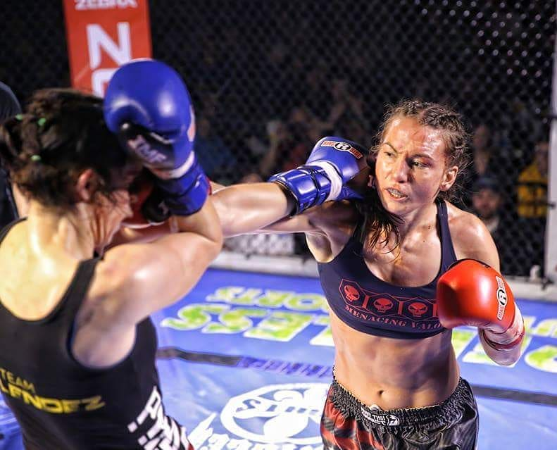 Invicta FC matchmaker Kaitlin Young defends Muay Thai title at Mecca XII