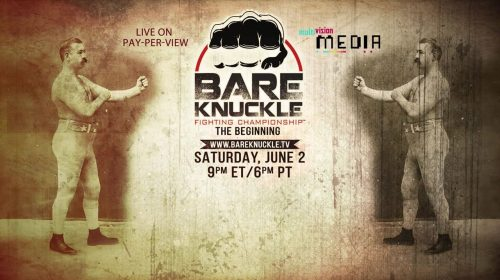Full Card Set for Bare Knuckle Fighting Championship; First Legal, Regulated and Sanctioned Bare Knuckle Event in the U.S. Since 1889