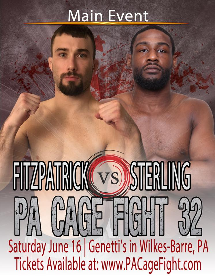 Jim Fitzpatrick vs Troy Sterling, PA Cage Fight 32