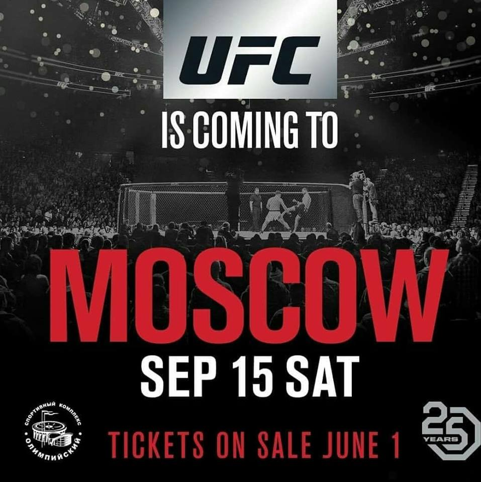 UFC, Moscow, Russia, UFC Russia