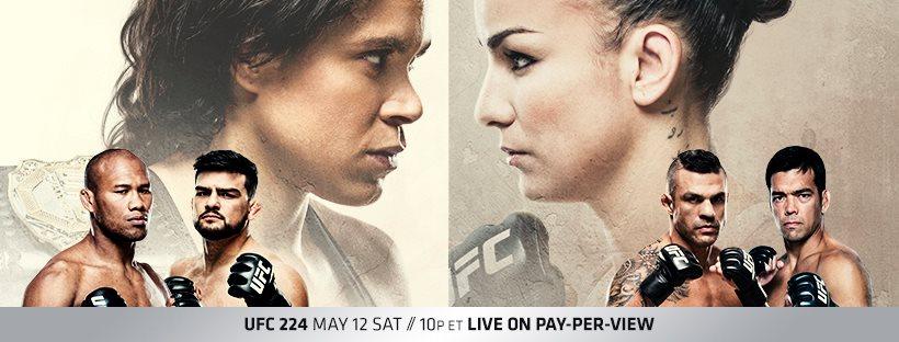 UFC 224 results - Amanda Nunes vs. Raquel Pennington