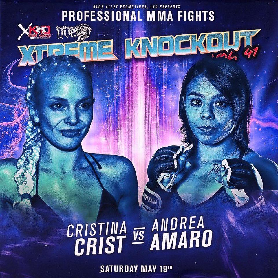 Cristina Crist, XKO 41, Xtreme Knockout