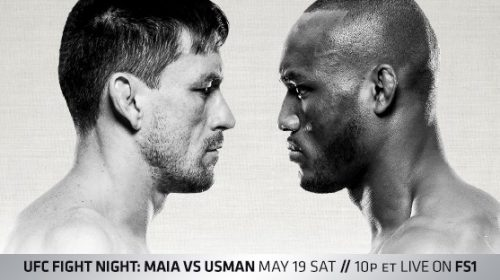 UFC Fight Night 129 results from Santiago, Chile – Maia vs. Usman