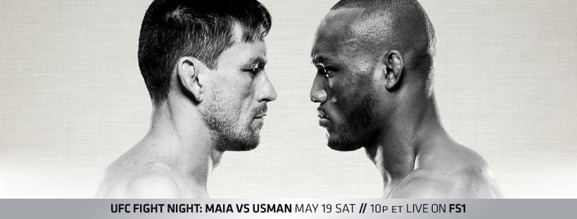 UFC Fight Night 129 results from Santiago, Chile - Maia vs. Usman