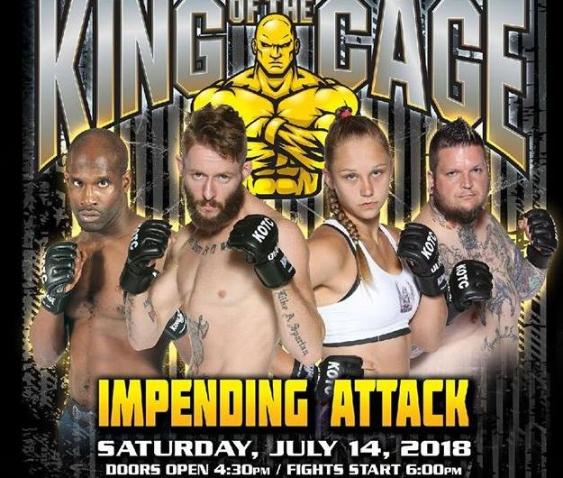 """King of the Cage Returns to WinnaVegas Casino Resort on July 14 for """"IMPENDING ATTACK"""""""