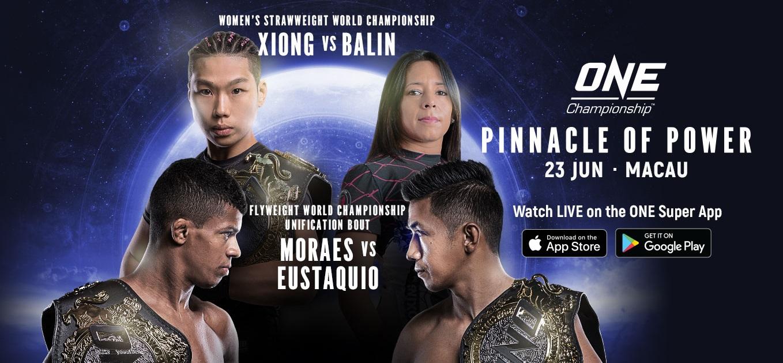 Xiong Jing Nan Defends ONE Women's Strawweight World Title Against Laura Balin in Macau
