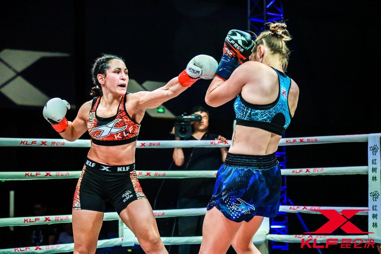 Kunlun Fight 73 results, Anissa Haddaoui def Anke Van Gestel via R3 Decision