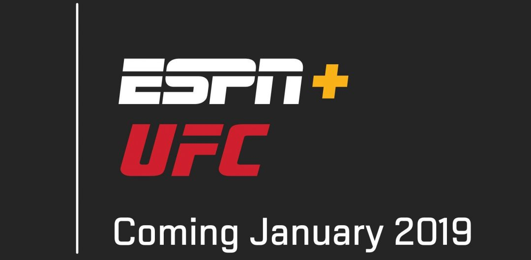 ESPN and ESPN+ to become EXCLUSIVE Media Home of the UFC in U.S.