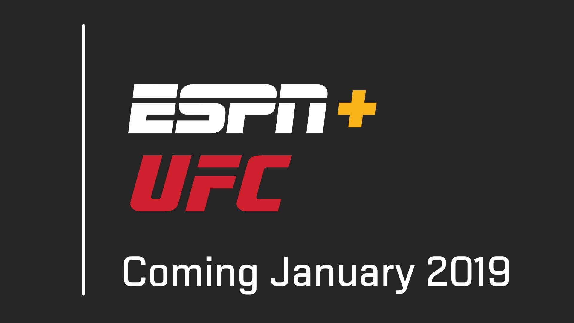 Dana White: I couldn't be more excited to partner with The Walt Disney Company and ESPN
