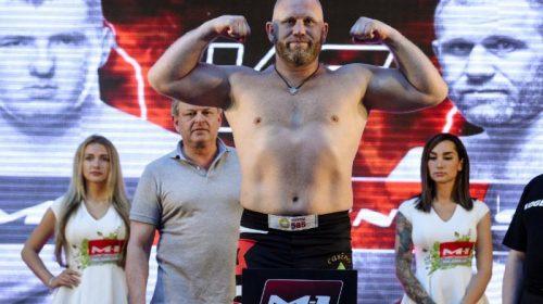 Russian heavyweight star Sergei Kharitonov speaks out before M-1 Challenge 92 SuperFight with Anton Vyazigin