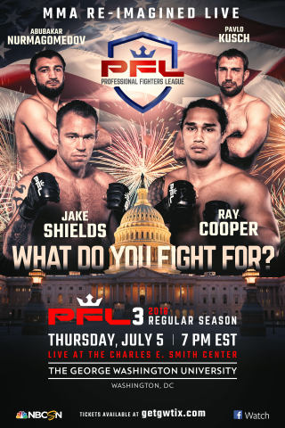 PFL 3, Professional Fighters League