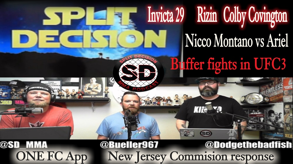 Split Decision MMA Podcast - UFC Ranking System, Colby, Nicco, more