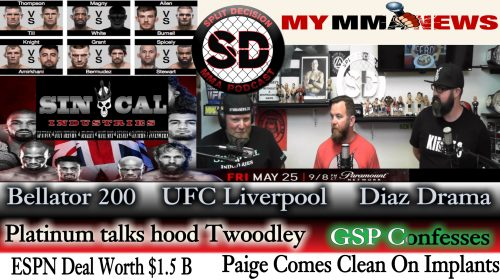 Split Decision MMA:  ESPN Deal, Nick Diaz arrested, Paige got upgrades, more
