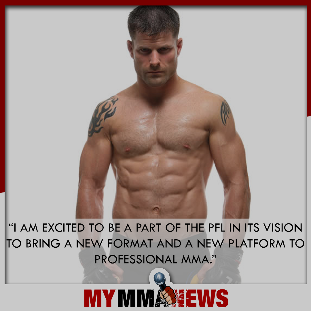 Brian Stann, PFL, Professional Fighter's League