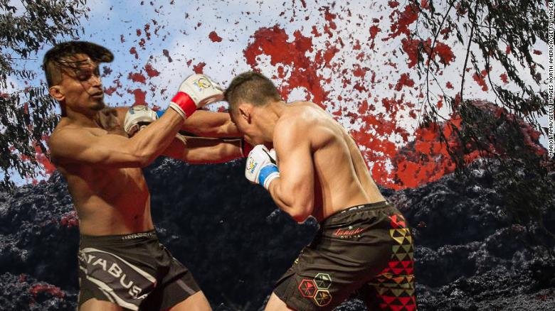 Hawaii native Federico Vento erupts after fan fuels fire at Maverick MMA 7