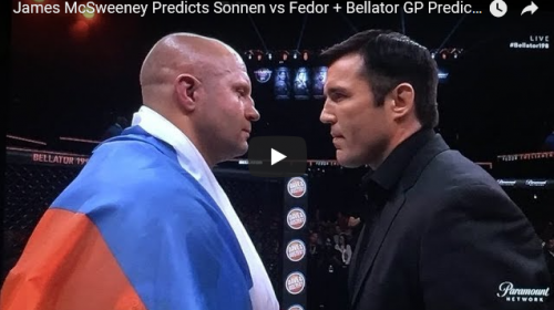Bellator Heavyweight Tournament Finals on the East Coast