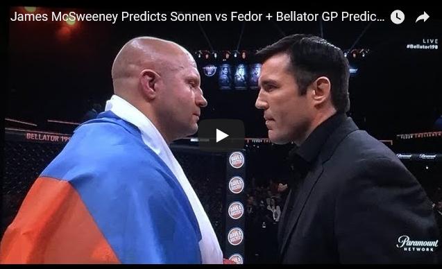 Sonnen vs Fedor, Bellator