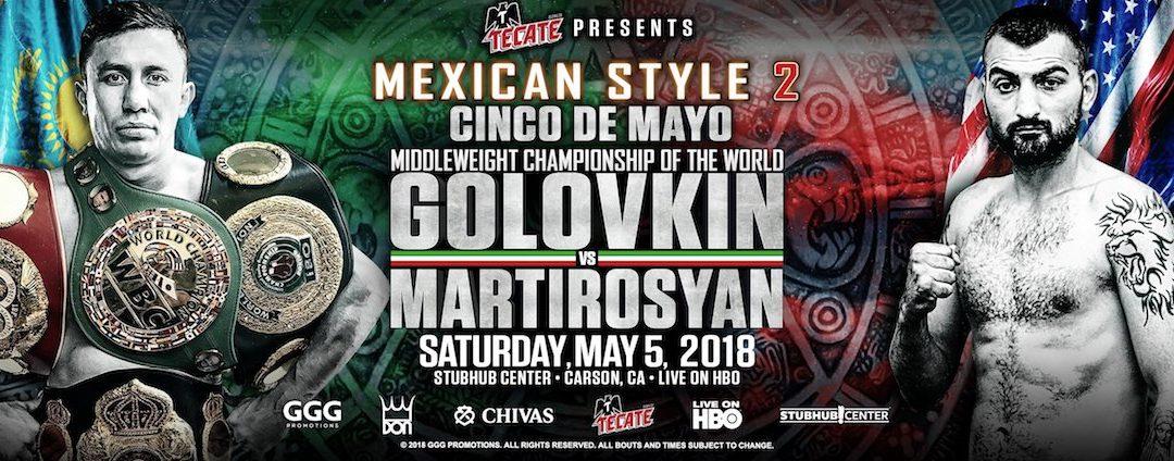 Gennady Golovkin vs Vanes Martirosyan – Weigh-Ins Live Stream