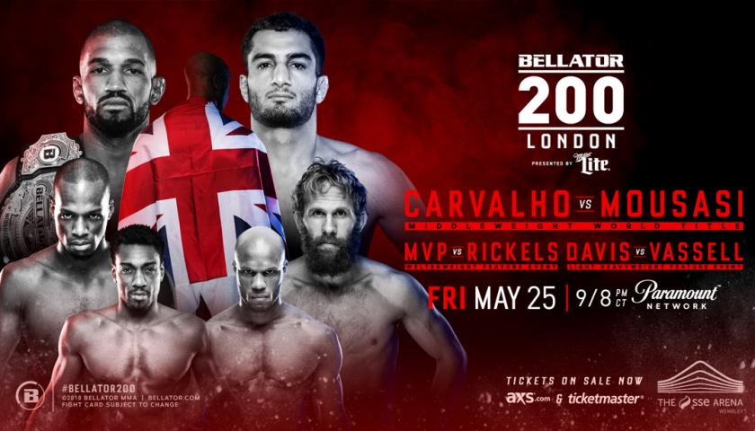 Gegard Mousasi vs. Rafael Carvalho is Your New Bellator 200 Main Event