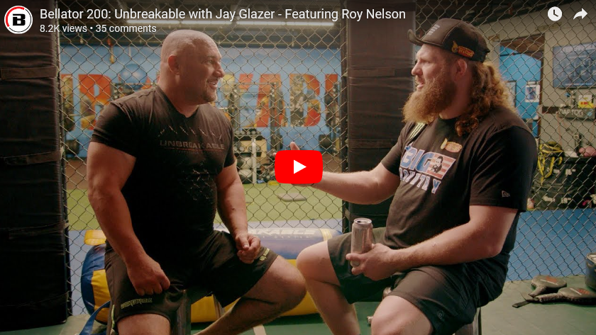 Jay Glazer sits down with 'Big Country' before Bellator 200!