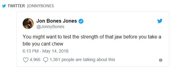 Jon Jones Twitter