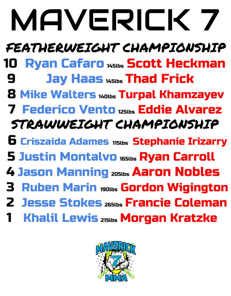 Maverick MMA 7
