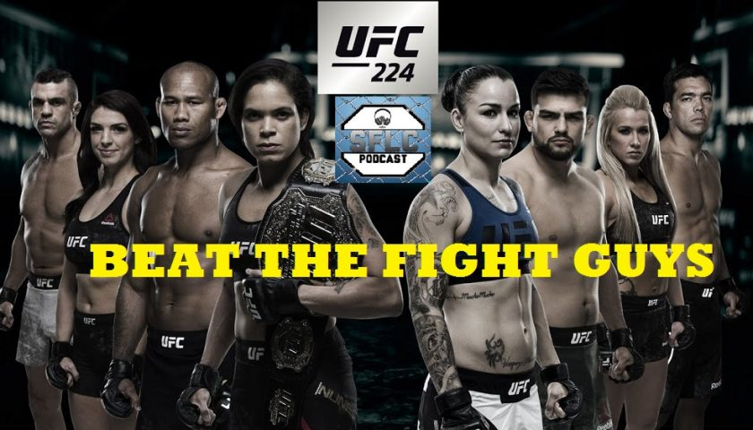 Beat the Fight Guys – UFC 224 – Win Prizes