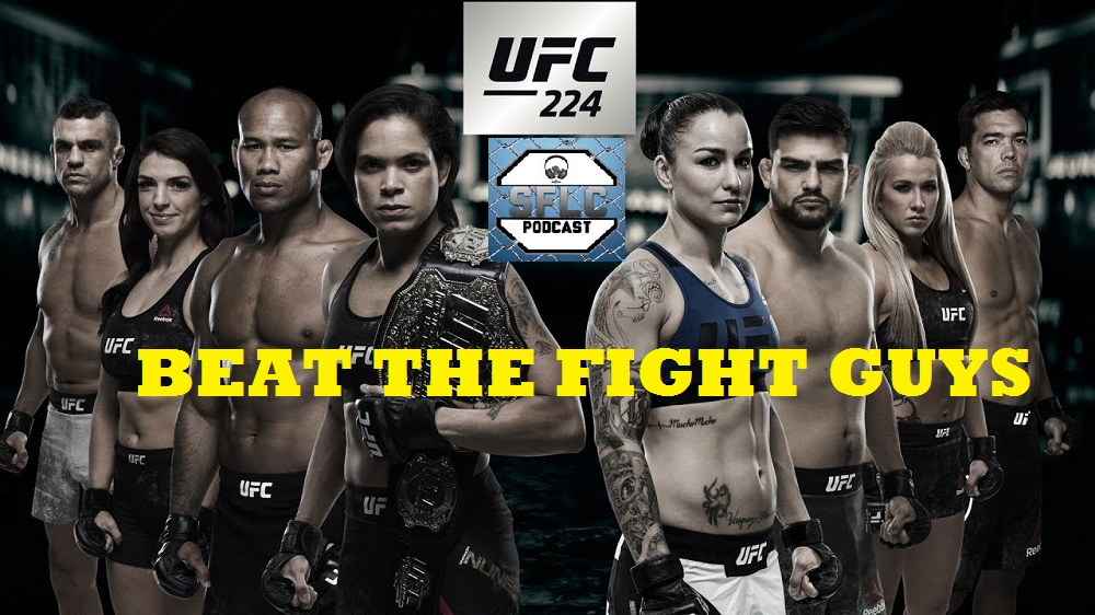 Beat the Fight Guys - UFC 224 - Win Prizes
