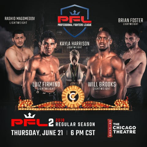 pfl, professional fighters league, PFL II, Chicago Theatre
