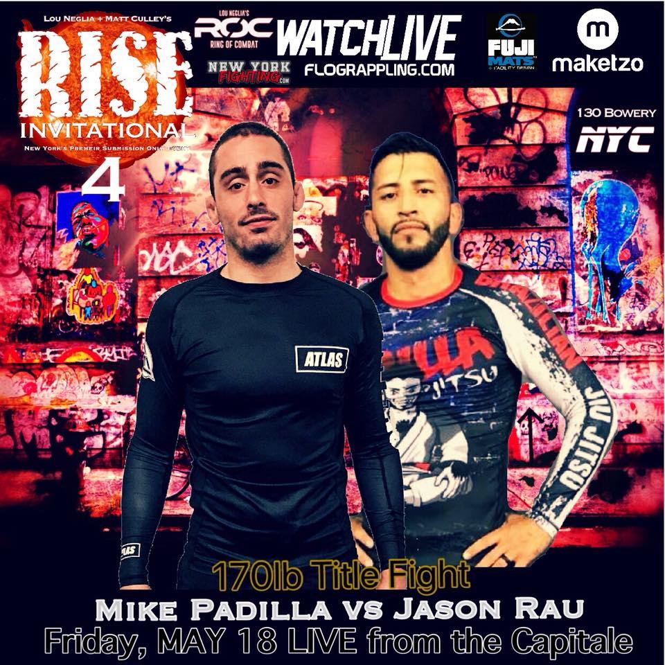 Mike Padilla, FloGrappling, Rise Invitational