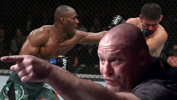 "Matt Serra on Demian Maia-Kamaru Usman fight: ""I am livid!! So livid over this ref!!"""