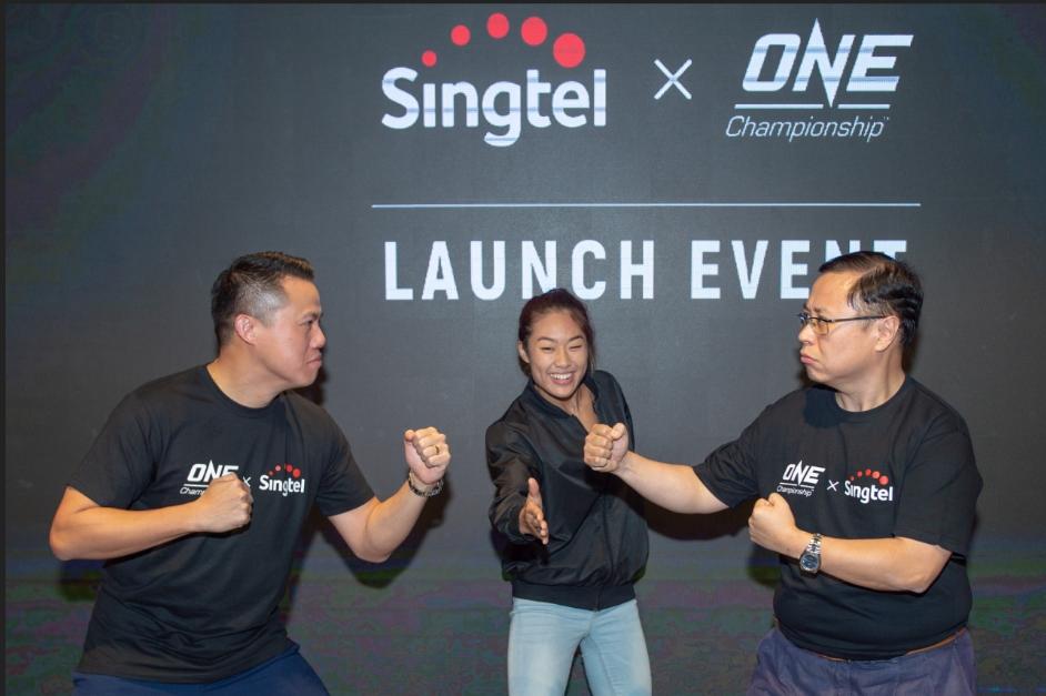 mobile app, singtel, one championship mobile app