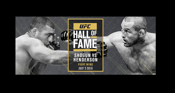 UFC 139 fight between Shogun and Hendo to be inducted into UFC Hall of Fame