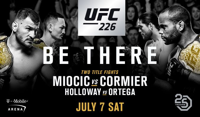 Image result for UFC 226: Miocic vs Cormier live