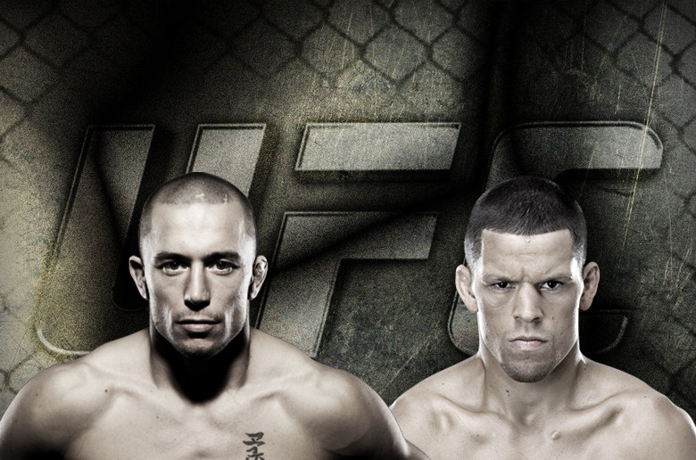 "Georges St-Pierre on possible fight with Nate Diaz: ""I considered it"""