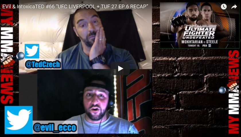 TUF 27 EP.6 RECAP + UFC Liverpool Preview With Pure EVil MMA
