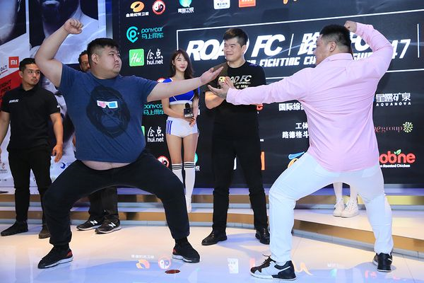 ROAD FC 047 official weigh in results and photos from Beijing, China