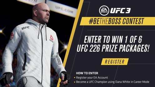 EA Sports UFC 3, UFC President Dana White