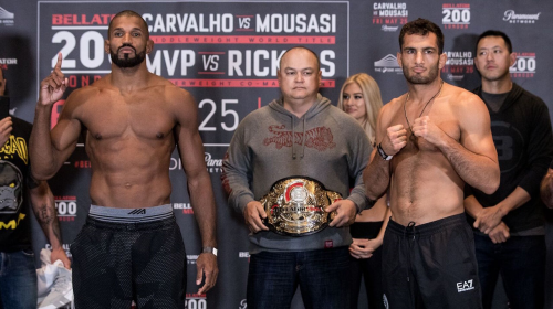 Complete Bellator 200: Carvalho vs. Mousasi Weigh-In Results