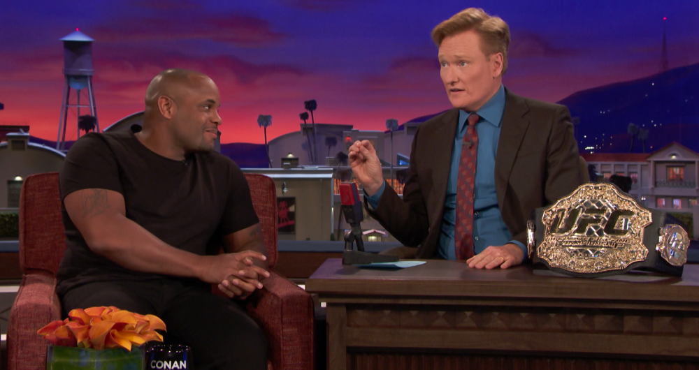 Why Daniel Cormier Almost Cancelled His CONAN Appearance