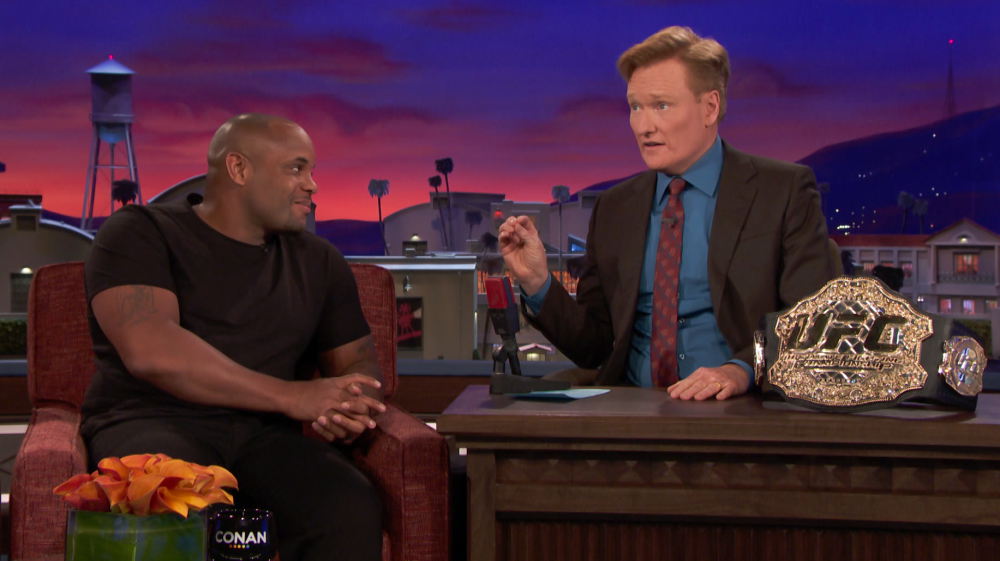 Daniel Cormier on Conan