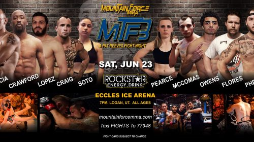 Mountain Force MMA 3 – Official PPV Live Stream